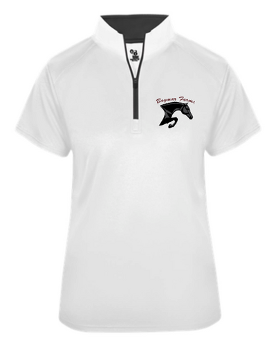 Baymar Stables Short Sleeve 1/4 Zip Pullover
