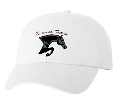 Baymar Stables Unstructured Baseball Cap