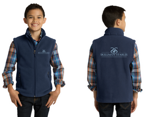 Skillman Stables Port Authority® Youth Fleece Vest