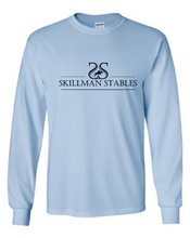 Load image into Gallery viewer, Skillman Stables Gildan Ultra Cotton Long Sleeve T-Shirt - Screen Printed