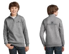 Load image into Gallery viewer, Skillman Stables JERZEES® Youth NuBlend® 1/4-Zip Cadet Collar Sweatshirt
