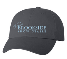 Load image into Gallery viewer, Brookside Show Stables Classic Unstructured Baseball Cap