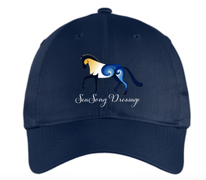 SeaSong Dressage Classic Unstructured Baseball Cap