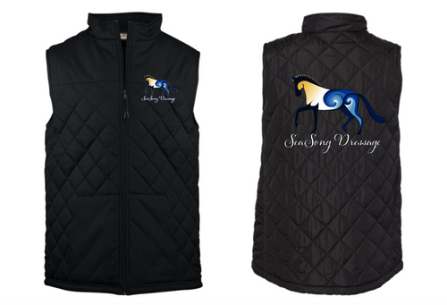 SeaSong Dressage Badger - Quilted Youth Vest