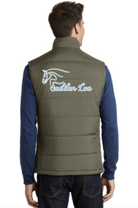 Sudden Lea Port Authority® Puffy Vest (Men's)- Large Back Embroidery