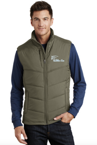 Sudden Lea Port Authority® Puffy Vest (Men's)- Chest Embroidery