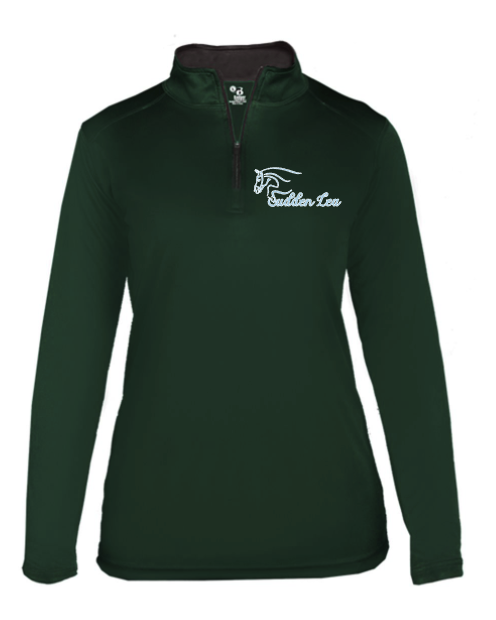 Sudden Lea Badger - B-Core Quarter-Zip Pullover (Ladies', Men's, Youth)