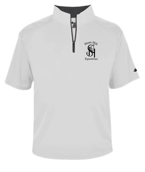 Stone Hill Badger B-Core Short Sleeve 1/4 Zip Pullover