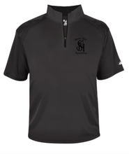 Load image into Gallery viewer, Stone Hill Badger B-Core Short Sleeve 1/4 Zip Pullover