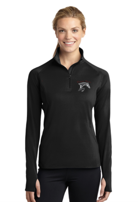 Baymar Stables Sport-Tek® Sport-Wick® Stretch 1/2-Zip Pullover (Fall/Winter Weight)