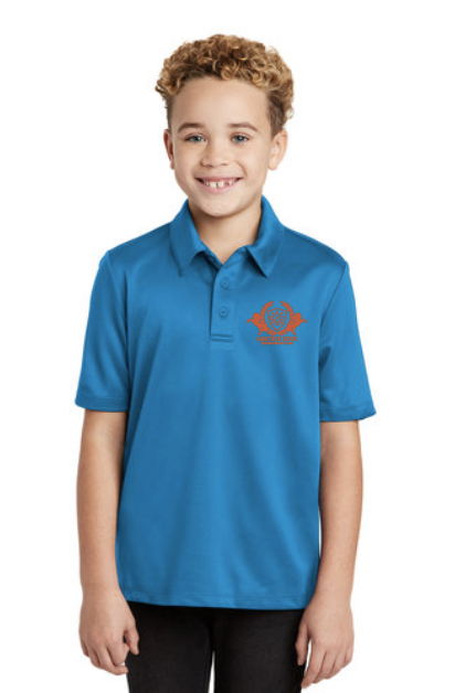 AHEC Port Authority® Youth Silk Touch™ Performance Polo