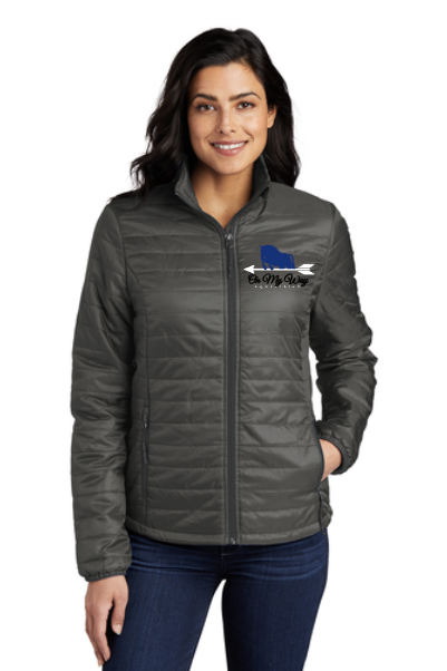 On My Way Equestrian - Port Authority® Ladies Packable Puffy Jacket