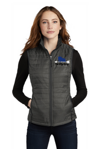 On My Way Equestrian - Port Authority® Ladies Packable Puffy Vest