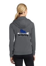Load image into Gallery viewer, On My Way Equestrian - Sport-Tek® Ladies Sport-Wick® Fleece Full-Zip Hooded Jacket