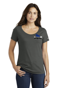 On My Way Equestrian - Nike Ladies Core Cotton Scoop Neck Tee