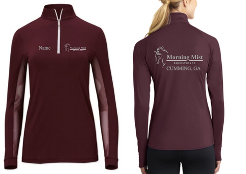 Morning Mist Equestrians Tailored Sportsman Icefil Long Sleeve