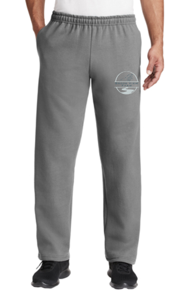 Brook View Farm Gildan - Heavy Blend™ Open-Bottom Sweatpants