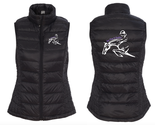 Get Over It Stables - Weatherproof - 32 Degrees Packable Down Vest