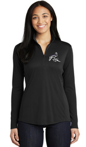 Get Over It Stables Sport-Tek® PosiCharge® Competitor™ 1/4-Zip Pullover (Men's,Women's, Youth)