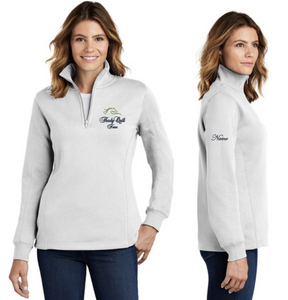 Thady Quill Farm - Sport-Tek® Ladies 1/4-Zip Sweatshirt