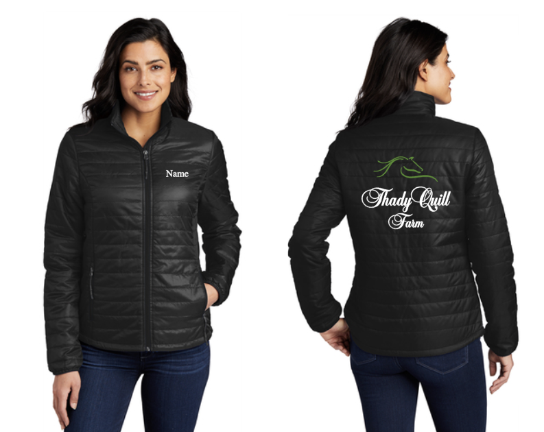 Thady Quill Farm - Packable Puffy Jacket (Men's, Women's)