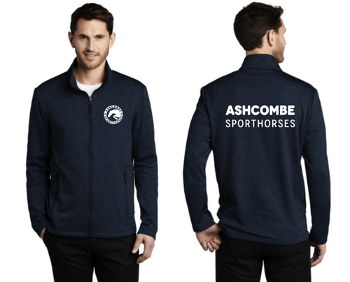 Ashcombe Sporthorses -  Port Authority® Collective Striated Fleece Jacket (Men's & Ladies)