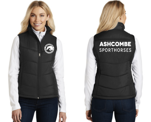 Ashcombe Sporthorses - Port Authority® Puffy Vest (Men's, Women's)
