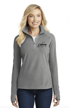 Load image into Gallery viewer, GGF - Port Authority® Ladies Microfleece 1/2-Zip Pullover