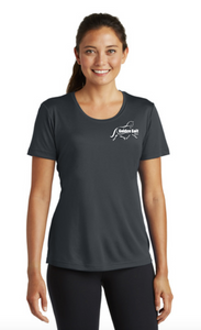 GGF - Sport-Tek ® Ladies Posi-UV ™ Pro Scoop Neck Tee