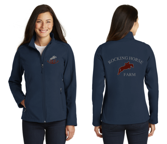 Rocking Horse Farm - Port Authority® Core Soft Shell Jacket