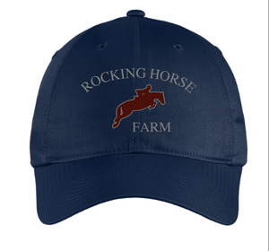 Rocking Horse Farm - Classic Unstructured Baseball Cap (Small Fit & Regular)