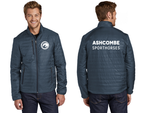 Ashcombe Sporthorses - Port Authority® Packable Puffy Jacket (Men's & Ladies)