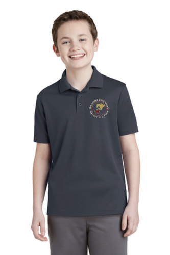 Northstar Equestrian - Sport-Tek® Youth PosiCharge® RacerMesh® Polo