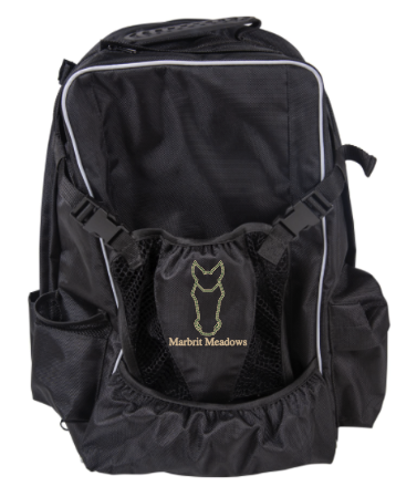 Marbrit Meadows - Dura-Tech® Rider's Backpack