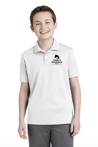 CMR - Sport-Tek® Youth PosiCharge® RacerMesh® Polo