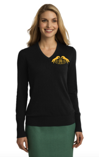Benchmark Stables - Port Authority® Ladies V-Neck Sweater