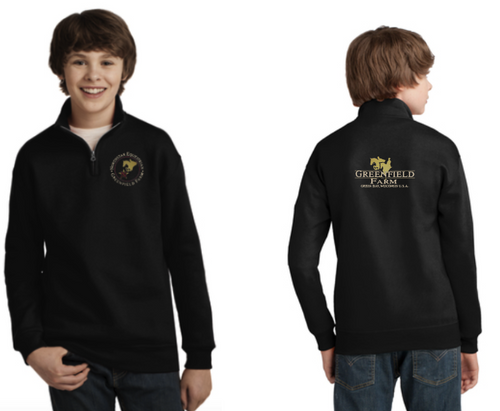 Northstar Equestrian - JERZEES® Youth NuBlend® 1/4-Zip Cadet Collar Sweatshirt