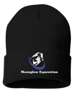 "Moonglow Equestrian Sportsman - 12"" Knit Beanie"