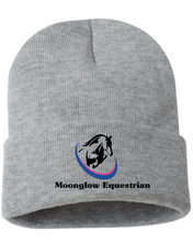 "Load image into Gallery viewer, Moonglow Equestrian Sportsman - 12"" Knit Beanie"
