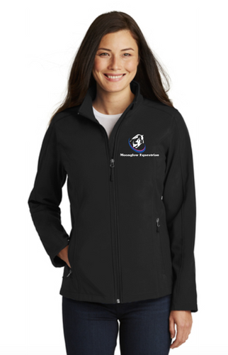 Moonglow Equestrian Port Authority® Ladies Core Soft Shell Jacket