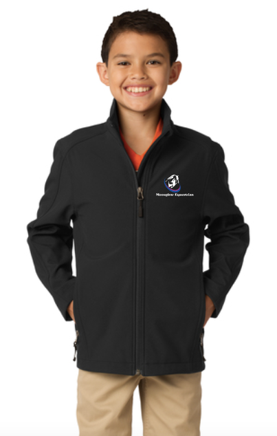 Moonglow Equestrian Port Authority® Youth Core Soft Shell Jacket