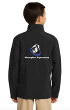 Load image into Gallery viewer, Moonglow Equestrian Port Authority® Youth Core Soft Shell Jacket
