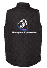 Load image into Gallery viewer, Moonglow Equestrian Badger - Quilted Youth Vest