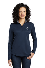 Load image into Gallery viewer, Break Away Farm Port Authority ® Ladies Silk Touch ™ Performance 1/4-Zip