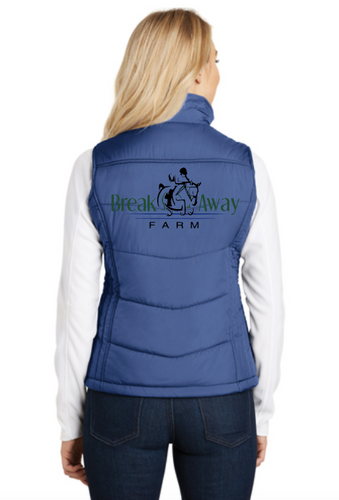 Break Away Farm Port Authority® Ladies Puffy Vest