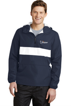 Load image into Gallery viewer, SD&E/AGS Sport-Tek® Zipped Pocket Anorak