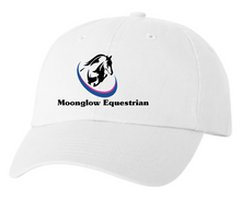 Load image into Gallery viewer, Moonglow Equestrian Unstructured Baseball Cap