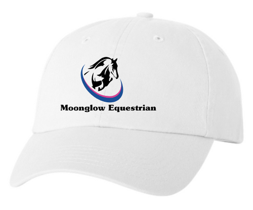 Moonglow Equestrian Unstructured Baseball Cap