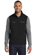 Load image into Gallery viewer, Morning Mist Equestrians Port Authority® Core Soft Shell Vest