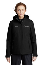 Load image into Gallery viewer, Morning Mist Equestrians Port Authority ® Insulated Waterproof Tech Jacket